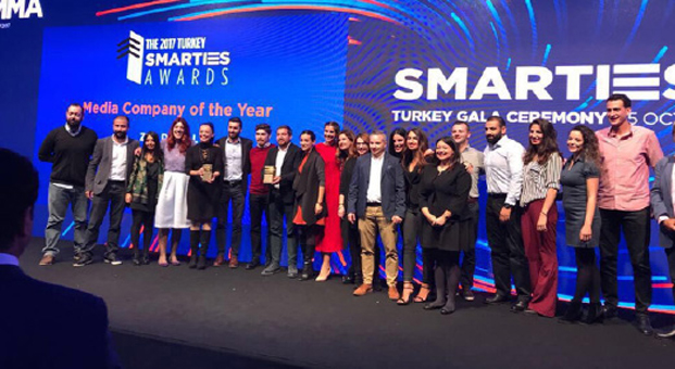 ZER, MMA Smarties Türkiye Tarafından Yılın En İyi Medya Ajansı Seçildi