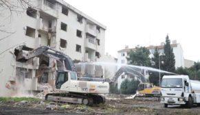 'Millet Bahçesi' için Zeytinburnu'da yıkım başladı