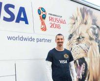 Zlatan Ibrahimoviç Visa ile yeniden Dünya Kupası'nda