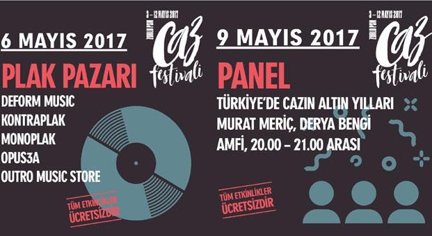Zorlu PSM Caz Festivali'nde; film gösterimleri, atölyeler, paneller, plak pazarı ve dahası da var